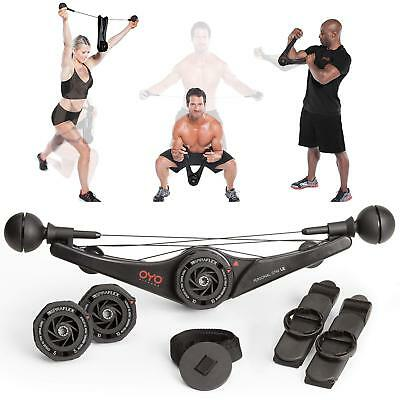 OYO Personal Gym LE Full Body Portable Gym for Home Office & Travel Fitness