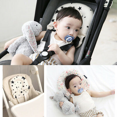Support Pillow Car Seat Head Body Newborn Baby Stroller Liner Mat Cushion Pad UK