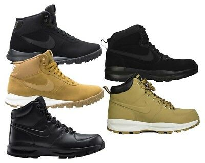 Nike Hoodland Chaussures D'hiver Loisir Montantes Leather Sport Manoa Hommes gb7yYf6