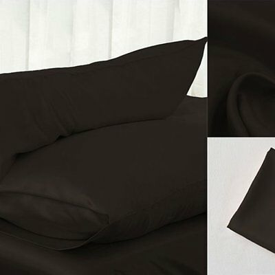 Cushion Covers Solid Color Silks And Satin Pillow Case Hold Pillowcase  RSG