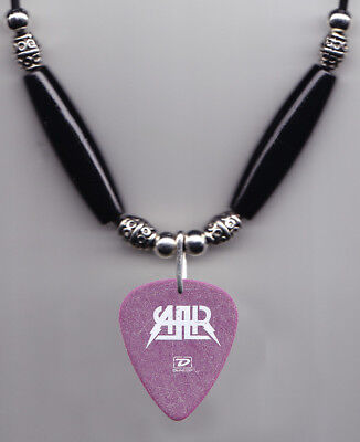 All American Rejects Mike Kennerty Caricature Guitar Pick Necklace - 2006 Tour