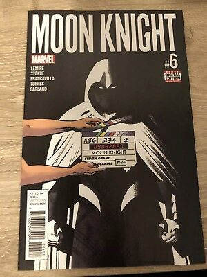 Moon Knight #6 Marvel Comic 1st Print 2016 unread VF/NM Or Better Jeff Lemire