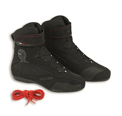 Genuine Ducati Performance Company 2 Boots by TCX, Water Resistant, 9810291