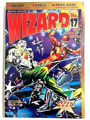 Wizard Magazine Price Guide to Comics Book Marvel DC Image Cable Vintage Rare 17
