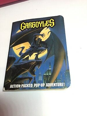Burger King Kids Club Gargoyles Action Packed Pop-Up Adventure
