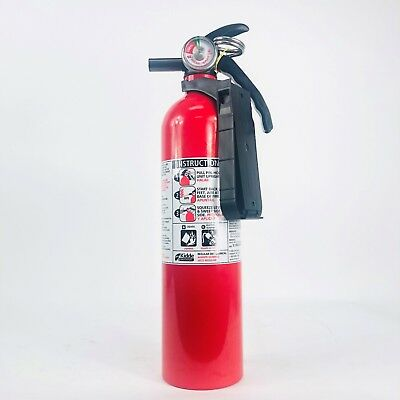 440161 FIRE EXTINGUISHER 2.5 lb. BC/FC10, WITH PLASTIC BRACKET BY  KIDDE