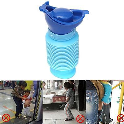 Portable Urinal Car Vehicular Toilet Kid Pee Training Travel Camping Potty MA