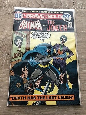 The Brave and the Bold #111 (Feb-Mar 1974, DC) [Joker] Bob Haney Jim Aparo