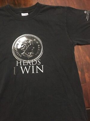 Heads I Win Tails You Lose Royal Canadian Mint T-shirt Size Small Gildan