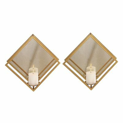 Uttermost 04167 Uttermost Zulia Gold Candle Sconces, S/2