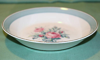 Ridgway Staffordshire Picardy Pattern Soup/cereal  Bowl Beautiful Look!!!
