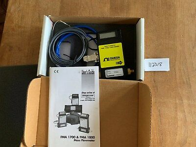 New   OMEGA FMA5410 Gas Mass Flow Controller   Tested