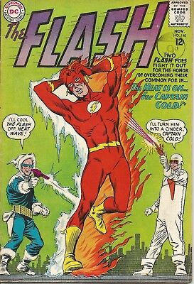 FLASH The Heat is on for Captain Cold DC Comic No. 140 Nov. 1963