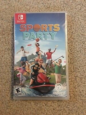 SPORTS PARTY - 2018 Nintendo Switch - Brand NEW Factory SEALED