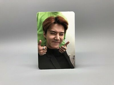 EXO Official Album LOVE SHOT Photocard - LOVE ver. - SEHUN WITH TRACKING