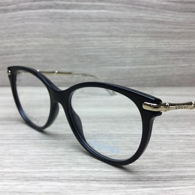 133e53ccfdf58 GUCCI GG 3780 GG3780 Eyeglasses Black Gold HQW Authentic 53mm ...