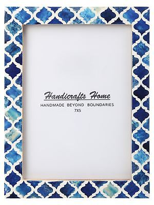 Handicrafts Home Picture Photo Frame Moroccan Pattern Bone Frames