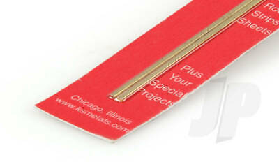 "K&S Metals BRASS STRIP Imperial Range in 12"" lengths Precision Metal"