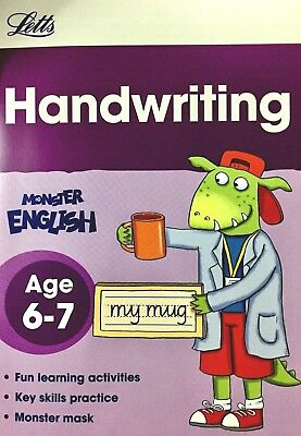 SPELLING & PHONICS, Monster English Book, Age 5-6 KS1 Letts