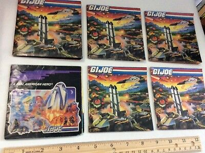 Vintage G.I. Joe LOT of Poster Pamphlets