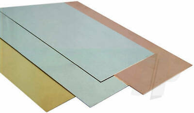 K&S Metals SHEET METAL BRASS/COPPER/TIN/ALUM/S STEEL Imperial Range Precision Me