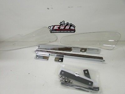 Nos Kawasaki Vulcan 600 Classic Windshield Lowers, Oem, K46001-325
