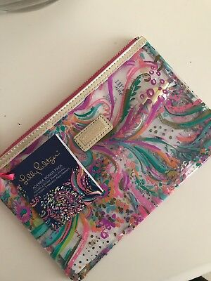 NWT LILLY PULITZER AGENDA BONUS PACK - PEN, STICKERS, Brand New With Tags