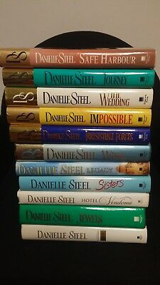 Danielle Steel Books Bundle of 11 Hardcover Sisters, Journey, Legacy, Impossible