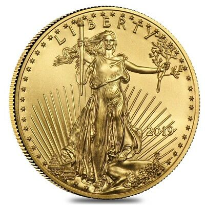 2019 1 oz Gold American Eagle $50 Coin BU