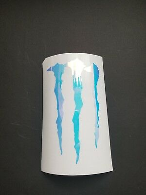 Monster Energy Sticker / Decal foil color