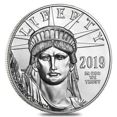 2019 1 oz Platinum American Eagle $100 Coin BU