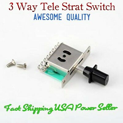 3 Way Selector Switch, Pickup Toggle Switch Fits Telecaster Fender® Stratocaster