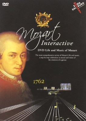 VARIOUS ARTISTS-Life And Music Of Mozart / Mozart Wolfgang Amadeus DVD NUEVO