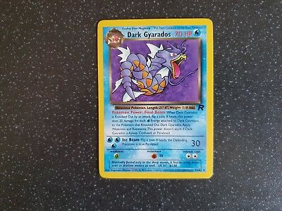 NEAR MINT Dark Gyarados 25//82 Rare Fast P/&P! Team Rocket Rare Pokemon Card