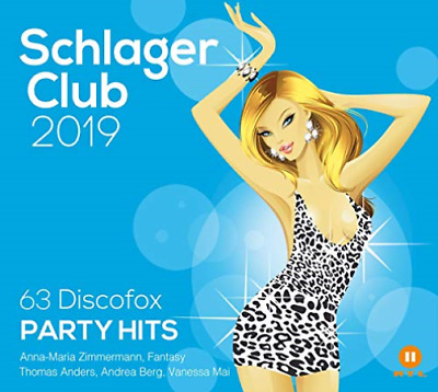 Various-Schlager Club 2019 (63 Discofox Party Hits-Best Of Cd Nuovo