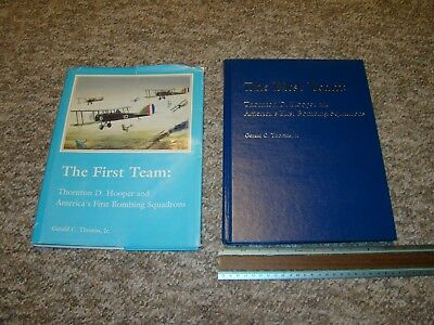 1992 THE FIRST TEAM - WWI 1ST BOMBING SQUADRON - #110 of 250 SIGNED EDITION