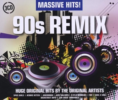 Various Artists-Massive Hits! 90s Remix CD / Box Set NUEVO