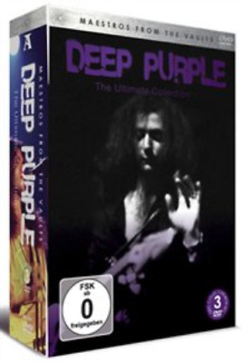 Deep Purple: Maestros from the Vaults - The Ultimate Collection DVD NUEVO