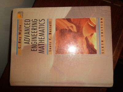 Advanced Engineering Mathematics by C. Ray Wylie 1995, Hardcover 6th Edition