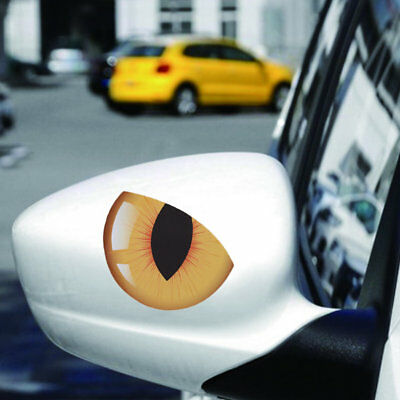 A/B/C/D Style Personality Cat's Eye Design Casual Styling Car Stickers KX