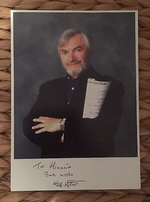 MONTY NORMAN AUTOGRAPH Photo - James Bond Theme Film Score Composer Hand  Signed