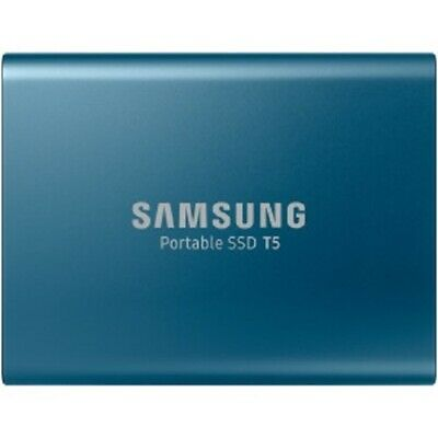 Samsung Portable SSD T5 500GB USB 3.1 External Storage Solid State Drive Blue