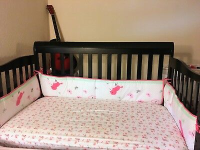 Dream on Me baby crib - 5 in 1 convertible baby/toddler crib (including mattress