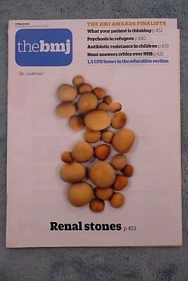 British Medical Journal (BMJ),19 March 2016 (No.8049), Renal Stones