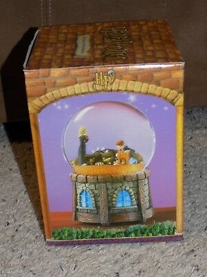 Evesco Harry Potter Harry, Ron, Hermione Fluffy Musical Water Ball Original Box