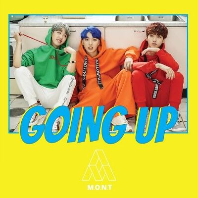 M.O.N.T [GOING UP] 1st Mini Album. Sealed CD+Photo Card+Photo Sticker K-Pop
