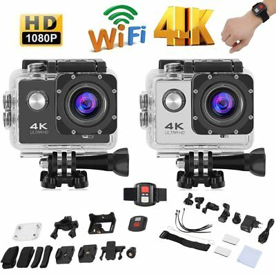 F60R 4K WIFI Acción Cámara Deportiva Vídeo 16MP FHD Impermeable HDMI DV - SF
