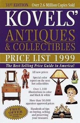 KOVELS' ANTIQUES & COLLECTIBLES PRICE LIST 1999 : BEST SELLING By Terry NEW