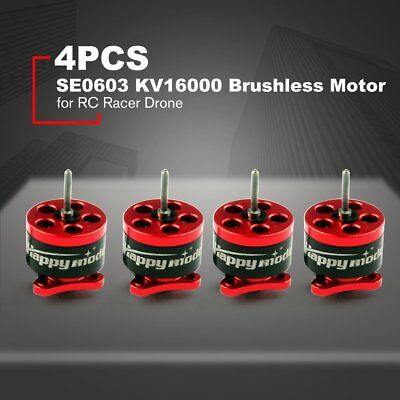 4PCS Happymodel SE0603 KV16000 CW/CCW Brushless Motor for RC Racer Drone A9