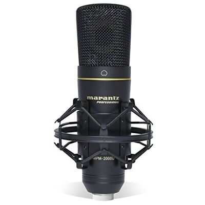 New Marantz Professional Usb Condenser Microphone Live-Recording  Free Shipping